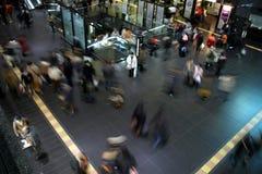 άνθρωποι θαμπάδων Στοκ φωτογραφία με δικαίωμα ελεύθερης χρήσης