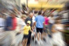 άνθρωποι θαμπάδων Στοκ εικόνες με δικαίωμα ελεύθερης χρήσης