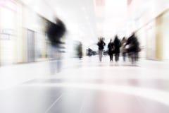 άνθρωποι κίνησης Στοκ Εικόνα