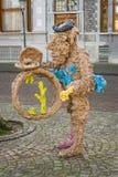 Άνθρωποι και ζώα στην πέτρα και το χαλκό από Han van Wetering Στοκ φωτογραφίες με δικαίωμα ελεύθερης χρήσης