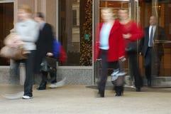 άνθρωποι κινήσεων Στοκ φωτογραφία με δικαίωμα ελεύθερης χρήσης