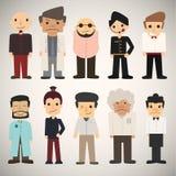 Άνθρωποι κινούμενων σχεδίων ομάδας Απεικόνιση αποθεμάτων