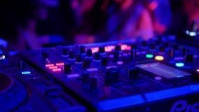 Άνθρωποι κομμάτων χορού του DJ φιλμ μικρού μήκους