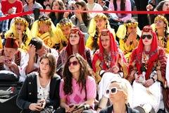 άνθρωποι κοστουμιών παρα& Στοκ φωτογραφία με δικαίωμα ελεύθερης χρήσης