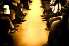 άνθρωποι μονοπατιών Στοκ φωτογραφίες με δικαίωμα ελεύθερης χρήσης