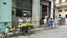 Κεντρική πόλη της Κούβας, Αβάνα στοκ εικόνα με δικαίωμα ελεύθερης χρήσης