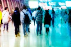 άνθρωποι πλήθους επιχειρησιακών πόλεων Στοκ φωτογραφία με δικαίωμα ελεύθερης χρήσης