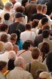 άνθρωποι πλήθους Στοκ εικόνα με δικαίωμα ελεύθερης χρήσης