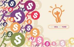 Άνθρωποι που δίνουν τα χρήματα για την έννοια Crowdfunding Στοκ εικόνες με δικαίωμα ελεύθερης χρήσης