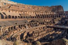 Άνθρωποι που επισκέπτονται Colosseum Στοκ Εικόνα
