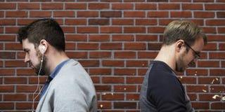 Άνθρωποι που κοιτάζουν επίμονα στο δρόμο τους Στοκ φωτογραφία με δικαίωμα ελεύθερης χρήσης