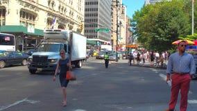 Άνθρωποι που περιοδεύουν τη Νέα Υόρκη φιλμ μικρού μήκους