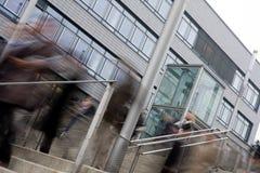 Άνθρωποι που πηγαίνουν στο γραφείο Στοκ εικόνα με δικαίωμα ελεύθερης χρήσης