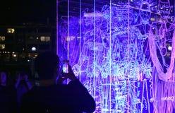 Άνθρωποι που προσέχουν το τοπίο του μυαλού Στοκ φωτογραφία με δικαίωμα ελεύθερης χρήσης