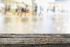 Άνθρωποι πόλεων και αφηρημένη δράση θαμπάδων υποβάθρου Στοκ Φωτογραφία