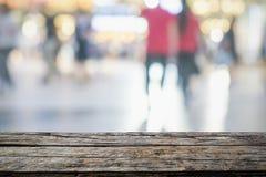 Άνθρωποι πόλεων και αφηρημένη δράση θαμπάδων υποβάθρου Στοκ εικόνες με δικαίωμα ελεύθερης χρήσης
