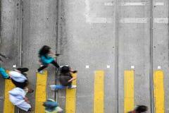 άνθρωποι πόλεων αστικοί Στοκ Εικόνα