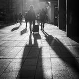 Άνθρωποι πόλεων Στοκ Εικόνα