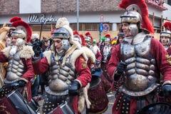 Άνθρωποι σε ένα καρναβάλι στην Κολωνία Στοκ εικόνα με δικαίωμα ελεύθερης χρήσης