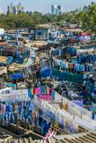 Άνθρωποι σε Dhobi Ghat Στοκ Φωτογραφία