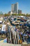 Άνθρωποι σε Dhobi Ghat Στοκ εικόνα με δικαίωμα ελεύθερης χρήσης