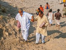 Άνθρωποι σε Kumbh Mela Στοκ εικόνες με δικαίωμα ελεύθερης χρήσης