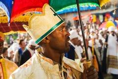 Άνθρωποι σε LALIBELA, ΑΙΘΙΟΠΊΑ Στοκ φωτογραφίες με δικαίωμα ελεύθερης χρήσης