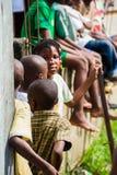 Άνθρωποι σε LIBREVILLE, ΓΚΑΜΠΌΝ στοκ εικόνα με δικαίωμα ελεύθερης χρήσης