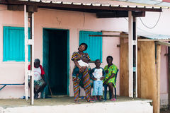 Άνθρωποι σε LIBREVILLE, ΓΚΑΜΠΌΝ στοκ εικόνες με δικαίωμα ελεύθερης χρήσης