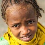 Άνθρωποι σε OMO, ΑΙΘΙΟΠΊΑ Στοκ εικόνα με δικαίωμα ελεύθερης χρήσης