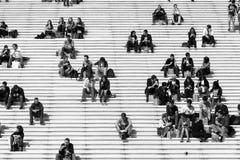 Άνθρωποι σκαλοπατιών Στοκ Εικόνες