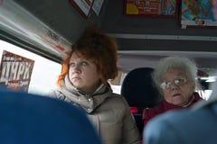 Άνθρωποι στα οχήματα Στοκ Φωτογραφία