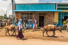 Άνθρωποι στην Αιθιοπία Στοκ Εικόνα