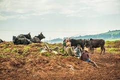 Άνθρωποι στην Αιθιοπία Στοκ Φωτογραφία