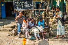 Άνθρωποι στην Αιθιοπία Στοκ Φωτογραφίες