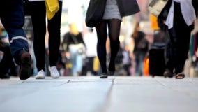 Άνθρωποι στην κίνηση απόθεμα βίντεο