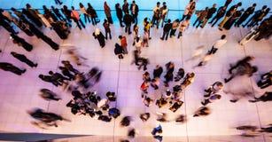 Άνθρωποι στην κίνηση Στοκ εικόνα με δικαίωμα ελεύθερης χρήσης