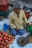Άνθρωποι στην οδό στο Varanasi, Ινδία Στοκ Εικόνες