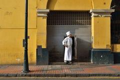 Άνθρωποι στην οδό της Λίμα, Περού Στοκ Εικόνες