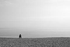 Άνθρωποι στην παραλία Στοκ Εικόνα
