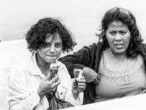 Άνθρωποι στην ΠΟΛΗ της ΓΟΥΑΤΕΜΑΛΑ, ΓΟΥΑΤΕΜΑΛΑ Στοκ Εικόνα