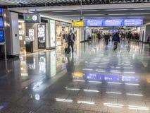 Άνθρωποι στον αερολιμένα της Φρανκφούρτης στη Φρανκφούρτη Στοκ Εικόνα