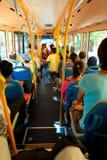 Άνθρωποι στο λεωφορείο Στοκ φωτογραφίες με δικαίωμα ελεύθερης χρήσης