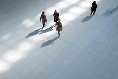 Άνθρωποι στο κτήριο Oculus Στοκ Φωτογραφία