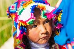Άνθρωποι στο Περού στοκ φωτογραφία