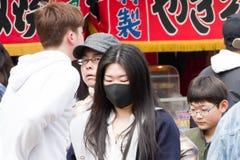 άνθρωποι στο φεστιβάλ άνοιξη στοκ φωτογραφίες
