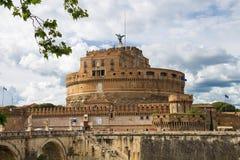 Άνθρωποι στο Castel Sant'Angelo, Ρώμη, Ιταλία Στοκ φωτογραφία με δικαίωμα ελεύθερης χρήσης
