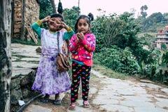 άνθρωποι του Νεπάλ στοκ εικόνα με δικαίωμα ελεύθερης χρήσης