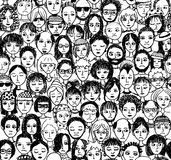 άνθρωποι δυστυχισμένοι Στοκ εικόνες με δικαίωμα ελεύθερης χρήσης