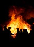 άνθρωποι φωτιών Στοκ εικόνες με δικαίωμα ελεύθερης χρήσης
